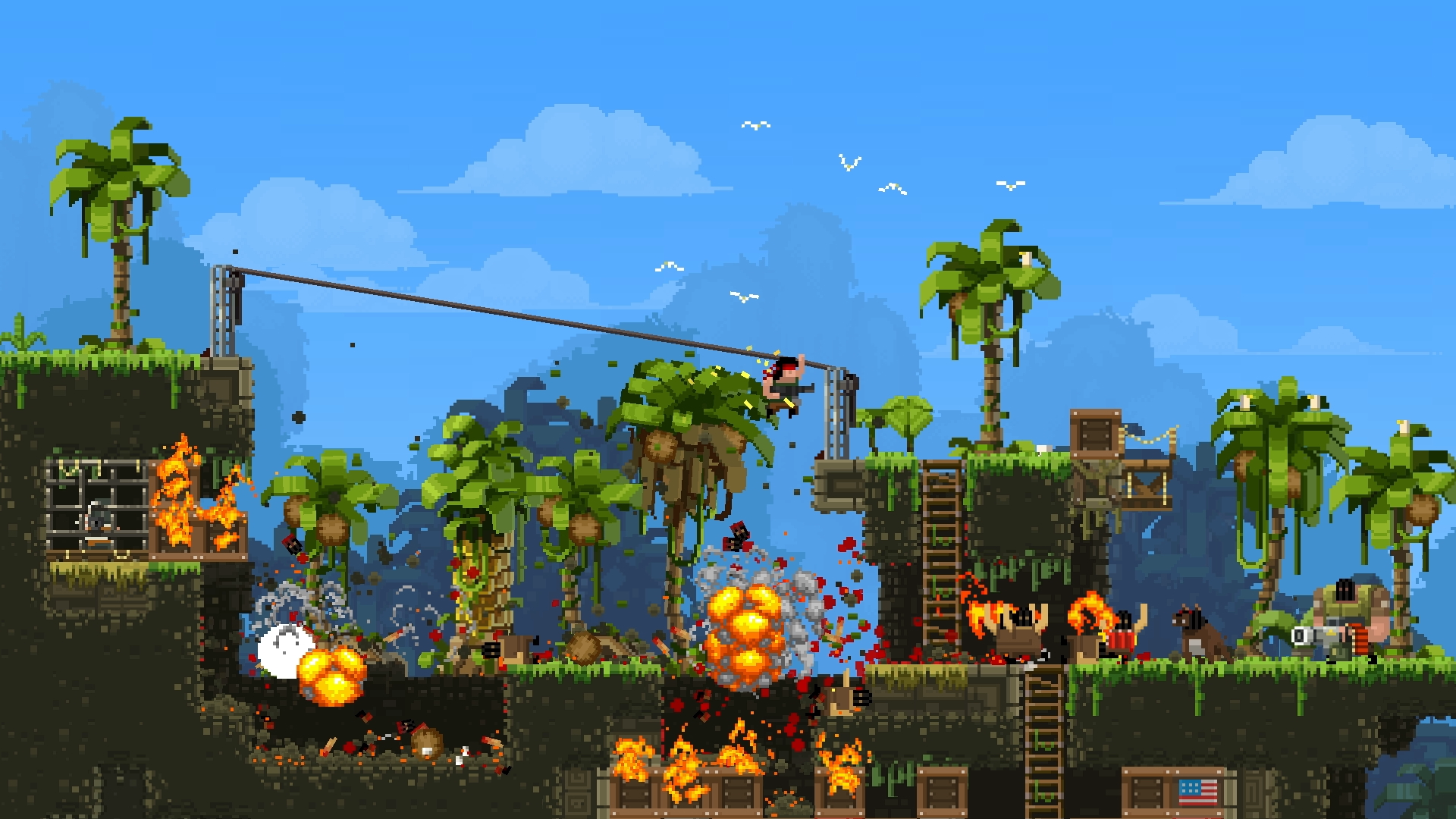 BROFORCE - Minecraft 2d spielen ohne download